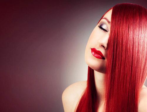 trockene Kopfhaut und gefärbtes Haar